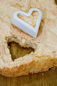 Cake with coconut — Stock fotografie