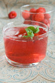 Raspberry Compote — Stock Photo