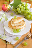 Pancake with Grapes — Foto de Stock