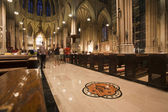 Interior of St. Patrick's Cathedral — Stock Photo