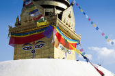 Swayambunath Temple in Kathmandu — Stock Photo