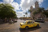 Taxi car in Mexico — Stock Photo