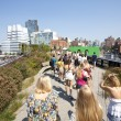 Highline Park in New York — Stock Photo #16826519