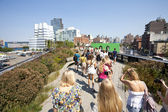 Highline Park in New York — Stock Photo