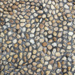 Cobblestone texture background — Stock Photo