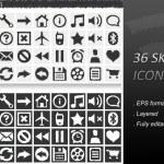 36 Sketch Icon — Stock Vector
