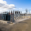 Electric Power Substation - Foto de Stock