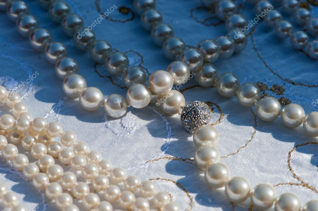 White Pearls/Beads  Stock Photo #14801201