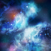 Galaxia vector mariposa — Vector de stock