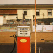 Foto Stock: Vintage gas pump