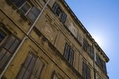 Old house facade — Stock Photo