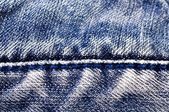 Textura de blue jeans — Foto de Stock