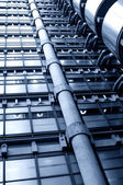 Steel Facades — Stock Photo