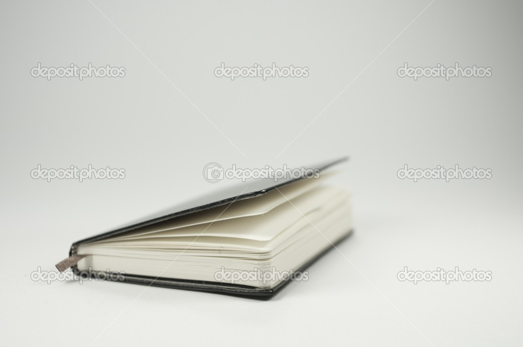 Little notebook, isolated on white background — Stock Photo #14884535