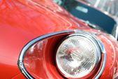 Red sportscar — Stok fotoğraf