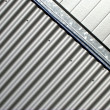 Stock Photo: Abstract Metal Facade