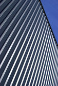 Abstract Metal Facade — Stock Photo