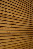 Wooden facade — Stock Photo