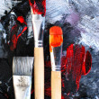 Brushes and Colors — Stock Photo #15585133