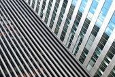 Reflecting Skyscrapers — Stock Photo