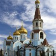 Cathedral of Kazan icon of the Mother of God — Stock Photo