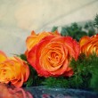 Stock Photo: Bouquet of roses