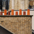 Parisian chimney — Stock Photo