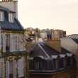 Typical parisian buildings — Stock Photo