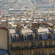 Stock Photo: Parisiroofs overview