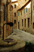 Montepulciano village in Tuscany, Italy — Stock Photo