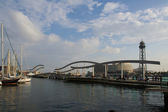 Barcelona port olympico — Stockfoto