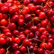 Pile of Cherries at the market - Stock Photo