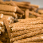 Pile of sesame sticks — Stock Photo #14673351