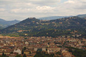 Florence overview with towers — Stock Photo