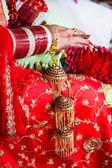 Indiska bröllop — Stockfoto