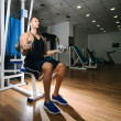 Gym training workout - Stok fotoğraf