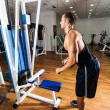Gym training workout - ストック写真