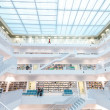 Stuttgart library interior — Stock Photo
