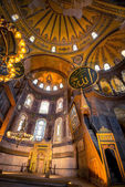 Interior of Hagia Sophia in Istanbul — Stock Photo