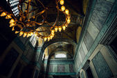 Light setup of Hagia Sophia — Stock Photo