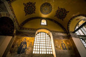 Wall painting in Hagia Sophia — Stock Photo