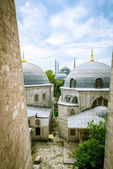 Backyard of Hagia Sophia — Foto de Stock