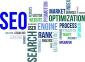Word cloud - seo — Stockvector