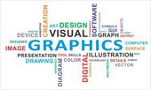 Word cloud - graphics — Vecteur