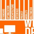 Word Cloud - Web Design — Stockvektor