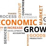 Word cloud - economic growth — Stock Vector #37565703