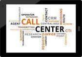 Word cloud - callcenter — Stockvektor