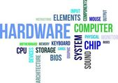 Word cloud - hardware — 图库矢量图片