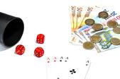 Game of hazard — Stock Photo