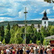 Stock Photo: Midsummer's Eve in Jarvso